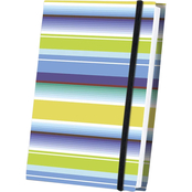 Thunder Bay Press Thick Striped Fabric Journal