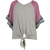 Speechless Girls Angel Sleeve Top