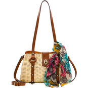 Patricia Nash Wicker Marcinaise Satchel