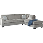 Signature Design by Ashley Altari 2 pc. Sectional, RAF Corner Chaise / LAF Sofa