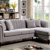 Furniture of America Goodwick Sectional Sofa
