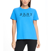 DKNY Sport Flocked Shadow Logo Tee