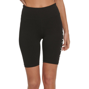 DKNY Sport Shadow Logo Bike Shorts