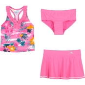ZeroXposur Little Girls Haven on Earth 3 pc. Swim Set