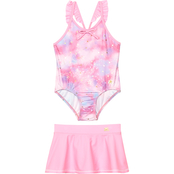 ZeroXposur Little Girls Shooting Star 2 pc. Swimsuit