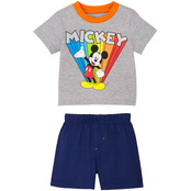 Disney Infant Boys Mickey Mouse Tee and Woven Shorts 2 pc. Set
