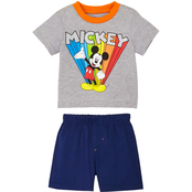 Disney Infant Boys Mickey Mouse Tee and Shorts 2 pc. Set