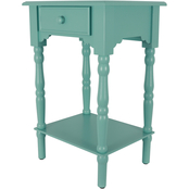 Decor Therapy Jane 1 Drawer Accent Table
