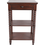 Decor Therapy Spindle Side Table