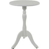 Decor Therapy Simplify Pedestal Accent Side Table