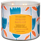Bath & Body Works Living The Good Life Floral: Spring Daylily 3 Wick Candle