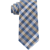Michael Kors Spectrum Small Plaid Silk Neck Tie
