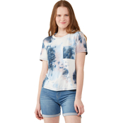 Wallflower Juniors Tie Dye Pocket Tee
