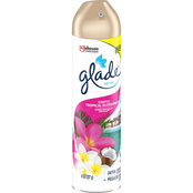 Glade Tropical Blossoms Air Freshener, 8 oz.