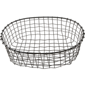 Thirstystone Modern Homestead Oval Wire Basket