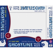 Ghostline Poster Board 3 Sheets, 22 x 28 in.