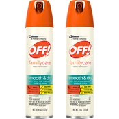 OFF! FamilyCare Smooth and Dry Insect Repellent