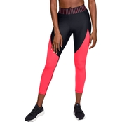 Under Armour HeatGear Armour Color Block Graphic Ankle Crop