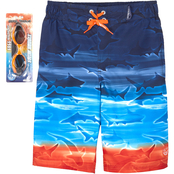 ZeroXposur Boys Horizon Swim Shorts