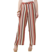 Inspired Hearts Multi Stripe Woven Pants