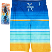 ZeroXposur Boys Ocean Breeze Swim Shorts