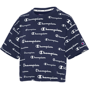 Champion Sports The Cropped Solid Scripts Tee