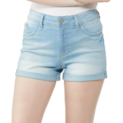 YMI Jeans Juniors 3 in. Luxe Lift Jade Shorts