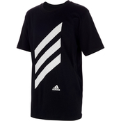 adidas Toddler Boys Sport Stripe Tee