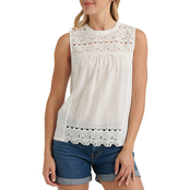 Lucky Brand Shiffly Shell Top