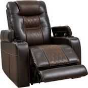 Signature Design by Ashley Composer Power Recliner with Adjustable Headrest