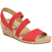 LifeStride Marina Casual Wedge Sandals