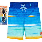 ZeroXposur Little Boys Ocean Breeze Swim Shorts