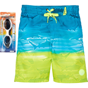 ZeroXposur Little Boys Horizon Swim Shorts