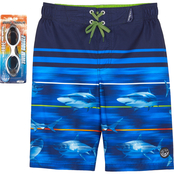 ZeroXposur Little Boys Frenetic Swim Shorts
