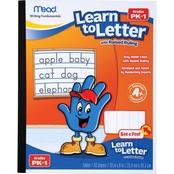 Mead Learn to Letter Writing Tablet