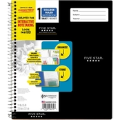 Five Star Interactive 1 Subject College Ruled Notebooks