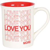 Our Name is Mud I Love You More Mug
