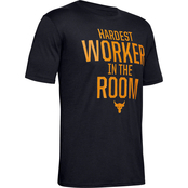 Under Armour Project Rock Hardest Worker In The Room Tee