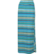 Passports Pull On Fitted Maxi Skirt
