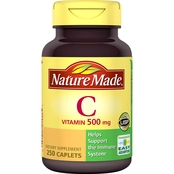 Nature Made Vitamin C 500 Mg Tablets 250 Ct.