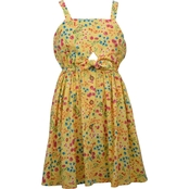 Bonnie Jean Girls Tie Front Sundress