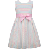 Bonnie Jean Little Girls Seersucker Dress