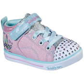 Skechers Toddler Girls Sparkle Lite Magical Crown Shoes