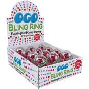 Bling Ring Flashing Hard Candy Jewelry