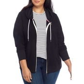 Tommy Hilfiger Plus Size Zip Up Hoodie