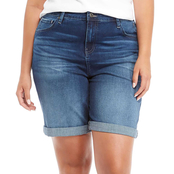 Tommy Hilfiger Plus Size 9 in. Denim Shorts