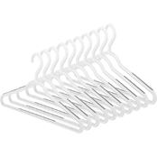 Whitmor Set of 10 Slim Sure Grip Hangers