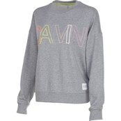 Calvin Klein Performance Outline Overlap Logo Crewneck Shirt