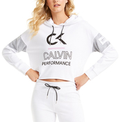 Calvin Klein Performance Icon Logo Colorblock Hoodie Sweatshirt