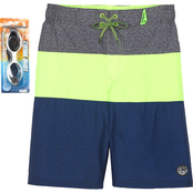 ZeroXposur Boys Static Swim Shorts
